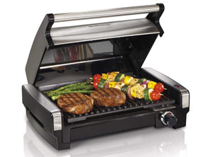 Hamilton Electric Smokeless Indoor Grill
