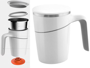 Heat Insulated Cup That Will Not Drop