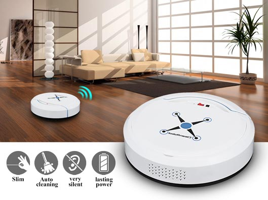 Holmark Mini Robot Vacuum Cleaner best price