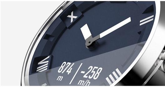 Lenovo watch X Plus Hybrid smartwatch Display
