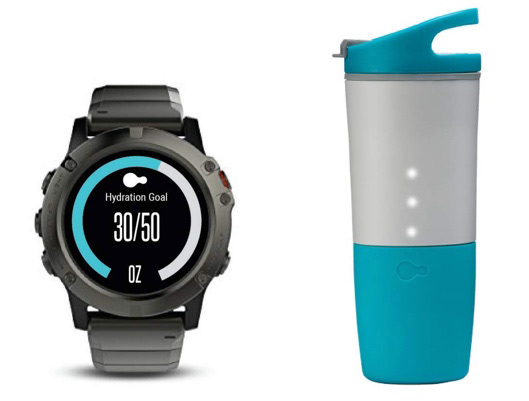 Ozmo Hydration Tracking Smart Bottle
