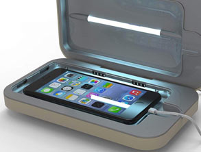 PhoneSoap 3 UV Sanitizer + Charger