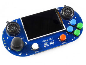 Portable Game Console Expansion Board for Raspberry Pi