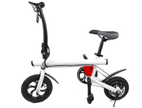 Small Tires Smart Folding Electric Bicycle