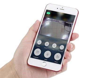Smart Doorbell with Door Camera app control