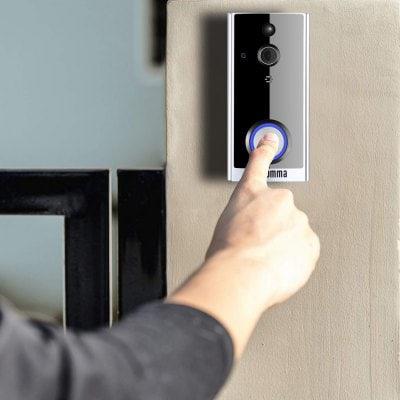 Smart Doorbell with Door Camera