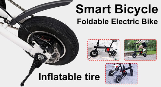 Smart Folding Electric Bicycle Specs, Discount