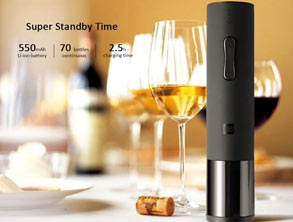 Stylish Electric Wine Bottle Opener
