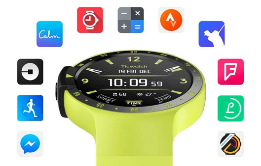 Ticwatch Smartwatch Compatible with iOS and Android