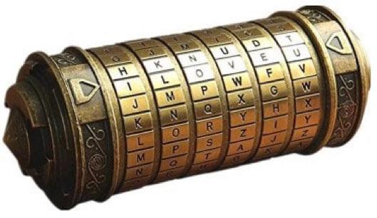 Unique Gift Da Vinci Code Locker
