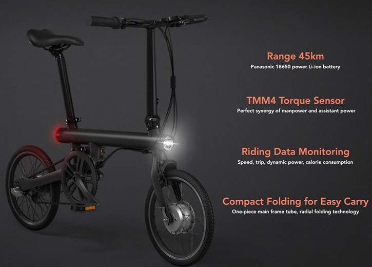 Xiaomi QICYCLE Folding Electric Bike best price