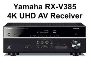 Yamaha 4K UHD AV Receiver