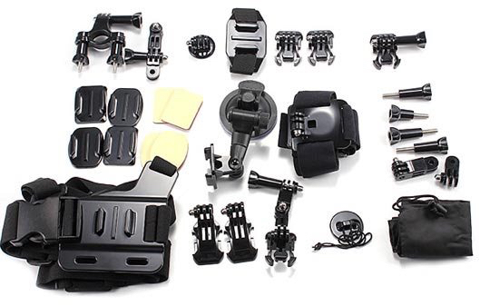 Accessories Kit for Action Cameras