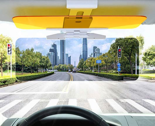 Anti Glare Glass For Car Windscreen