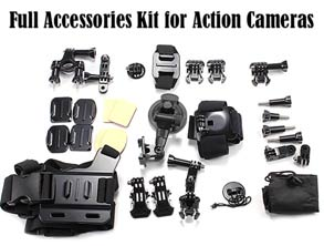 best Accessories Kit for Action Cameras