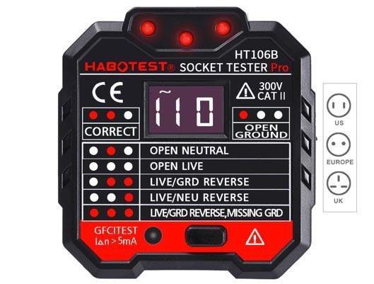 Best Functional Power Socket Outlet Tester