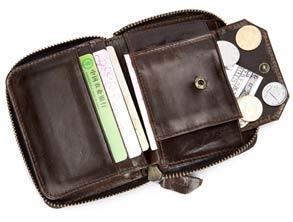 Best Genuine Leather RFID Card Holder Wallet