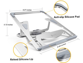best selling Adjustable Aluminum Laptop Stand