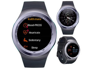 best selling Round Display Mens Smartwatch