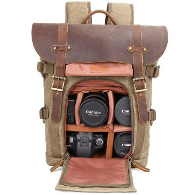 Best selling Vintage Camera Backpack For Photographer