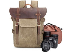 best Vintage Camera Backpack For Photographer