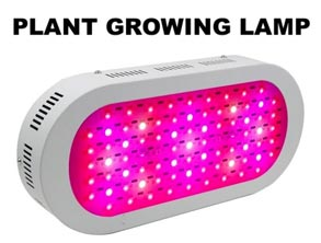 Blue and Red LED light plant growing Lamp
