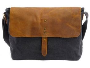 Budget Canvas Retro Crossbody Bag