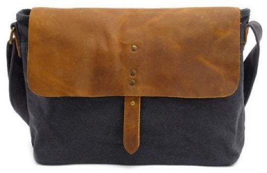 Canvas Retro Crossbody Bag