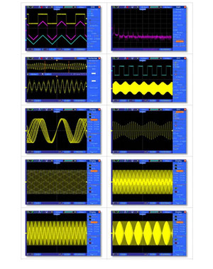 Digital Storage Oscilloscope data test