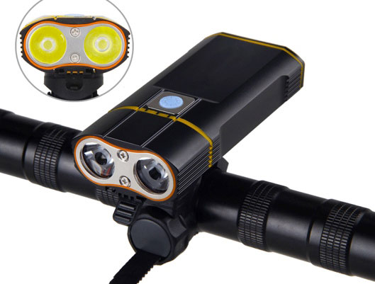 Durable Bike Front LED Light