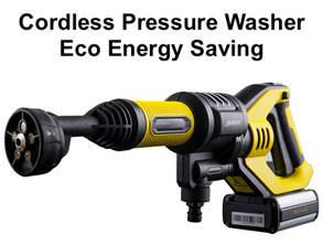 Eco Energy Saving Cordless Pressure Washer to buy