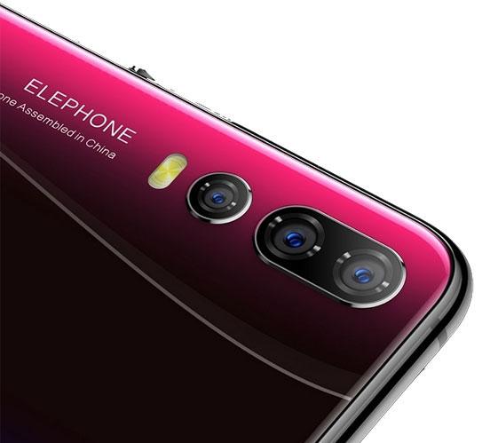 Elephone A5 4G Smartphone camera