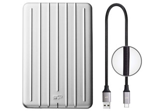External Hard Drive Shockproof PC and Mac