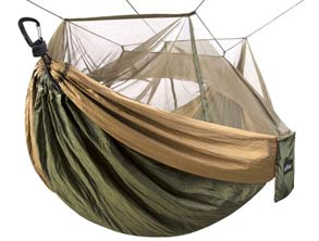 Hammock That Keeps Creepy Insects Away