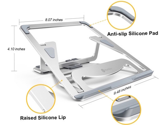 HUMIXX Adjustable Aluminum Laptop Stand