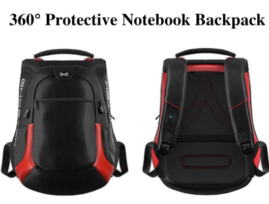 Laptop Backpack With Built-in Battery