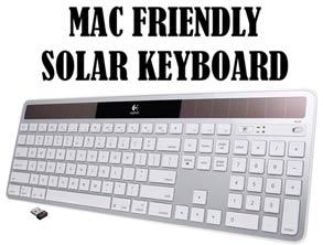 Mac Friendly Solar Keyboard