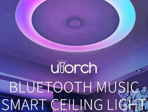 Music Smart Voice Control Ceiling Light discount