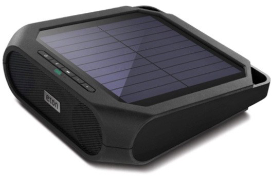 Outdoor Solar-Powered Bluetooth Speaker