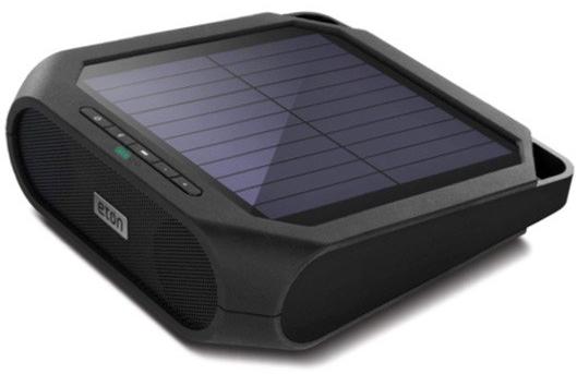 Outdoor Solar-Powered Bluetooth Speaker