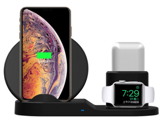 Qi Wireless Charging Dock For Apple devices