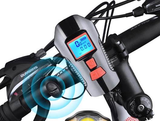 Smart Bike Computer With LED Light