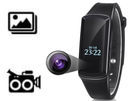 Smartband With Built-in 1080P Camera