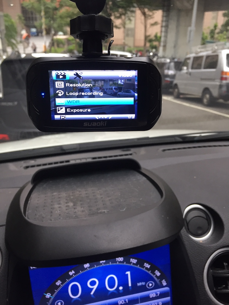 Suaoki Dash Camera Car DVR review