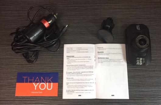 Suaoki Dash Camera Car DVR specs