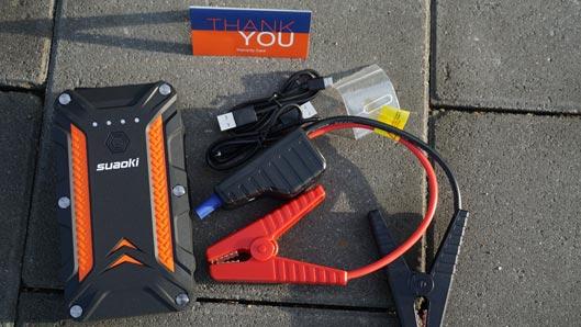 Suaoki Portable Jump Starter Charging Dock 1
