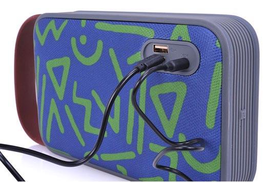 TRAKK Shockproof Handy Bluetooth Speaker