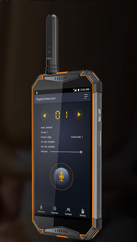 Ulefone best and latest armored walkie-talkie phone