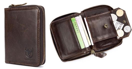 Vintage Genuine Leather RFID Card Holder