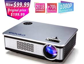 1080P FHD Projector Multimedia Home Theater deals